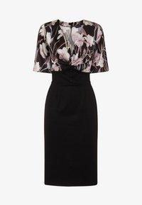 HotSquash - EMMA - Shift dress - schwarz/flieder - 2