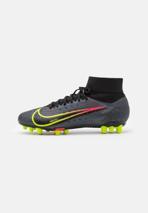 MERCURIAL 8 PRO AG - Moulded stud football boots - black/cyber/off noir