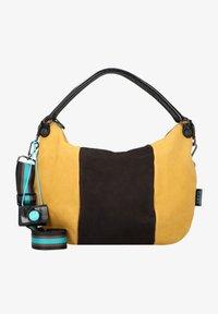 Gabs - STAR  - Handbag - black-cognac-saffron - 0