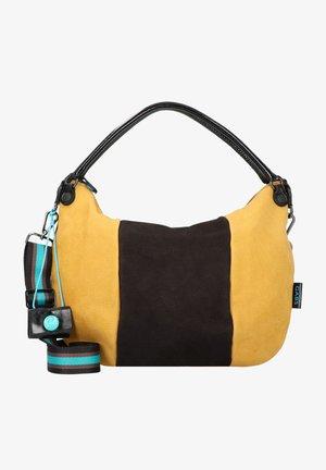 STAR  - Handbag - black-cognac-saffron
