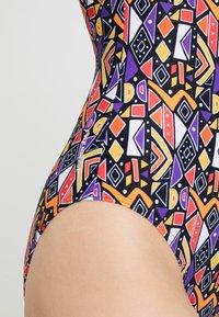 Zoggs - CULTURE JAM HI FRONT - Swimsuit - multi - 4