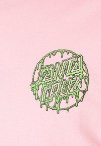 Santa Cruz - UNISEX TOXIC DOT - Triko spotiskem - pink - 2