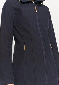 Icepeak - VIAMAO - Soft shell jacket - dark blue/black melange - 4