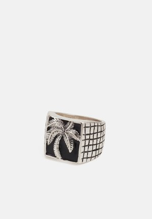 OFF ROAD TRAVELLER RECTANGLE PALM - Ring - silver-coloured