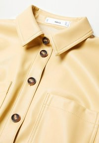 Mango - NASTIA - Shirt dress - giallo pastello - 8