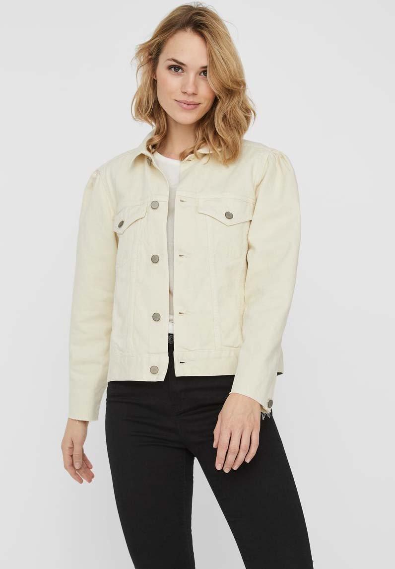 Vero Moda - Denim jacket - ecru