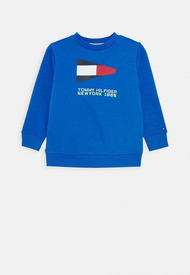 SAILING FLAG GRAPHIC - Sweatshirt - blue