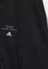 adidas Performance - MUST HAVES ENHANCED AEROREADY HOODED - Sweatjacke - black - 8