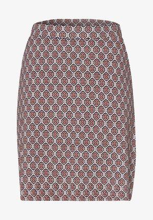 A-line skirt - raw cotton