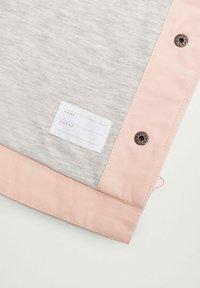 Mango - BONIE - Zip-up hoodie - hellrosa - 3