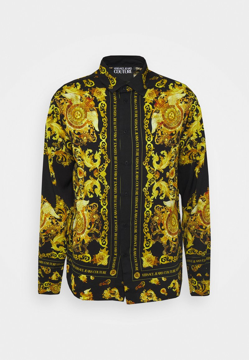 Versace Jeans Couture - PANEL GOLD BAROQUE  - Košile - black