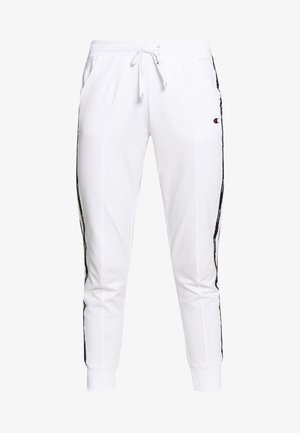 RIB CUFF PANTS - Trainingsbroek - white