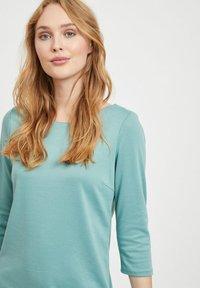 Vila - VITINNY - Day dress - mottled light blue - 3