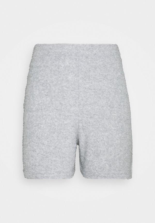 TOWEL LOOSE SHOT - Shorts - grey