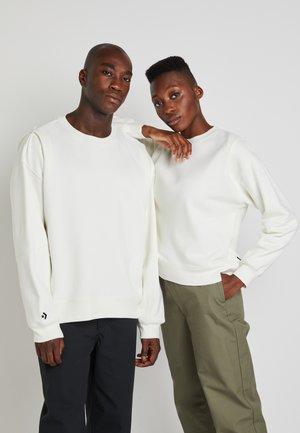 SHAPES BUBBLE CREW UNISEX - Sweatshirt - egret