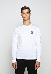 Belstaff - LONG SLEEVED  - Long sleeved top - white - 5