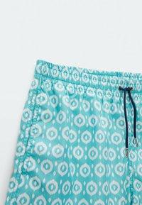 Massimo Dutti - Swimming shorts - light blue - 3