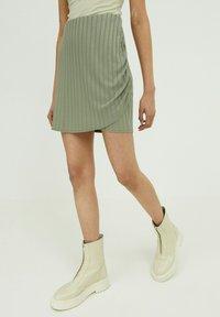 EDITED - PAISLEY - Wrap skirt - grün - 0