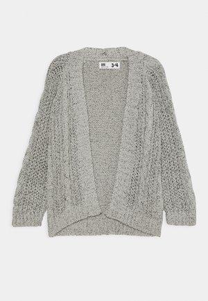FLEUR CARDIGAN - Cardigan - grey