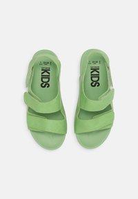 Cotton On - TRIPLE STRAP UNISEX - Sandals - spearmint - 3