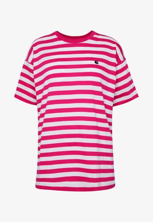 SCOTTY - T-shirts med print - ruby pink/white