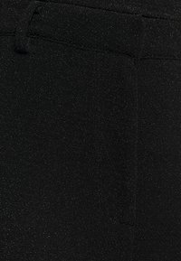 NA-KD - STRAIGHT SPARKLE PANTS - Tygbyxor - black - 5