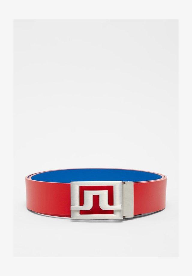 Belt - red bell