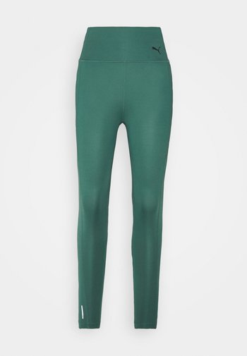 FAVORITE FOREVER HIGH WAIST 7/8 - Tights - blue spruce