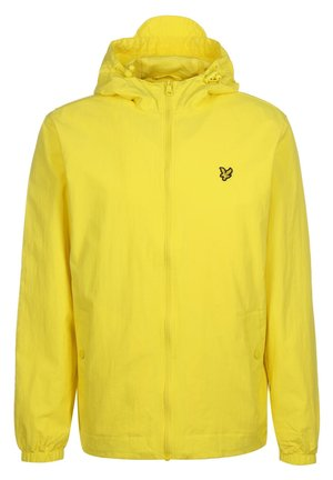 ZIP THROUGH HOODED JACKET - Summer jacket - buttercup yellow