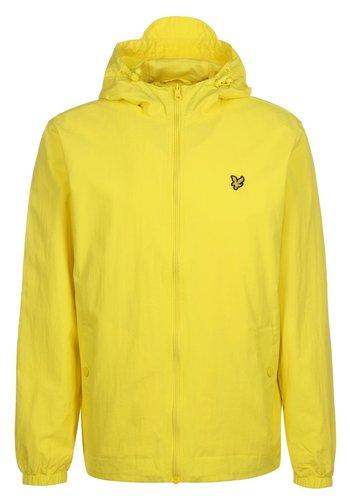 ZIP THROUGH HOODED JACKET - Giacca leggera - buttercup yellow