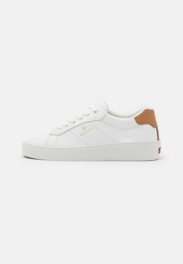 LAGALILLY - Sneakers basse - bright white/tan