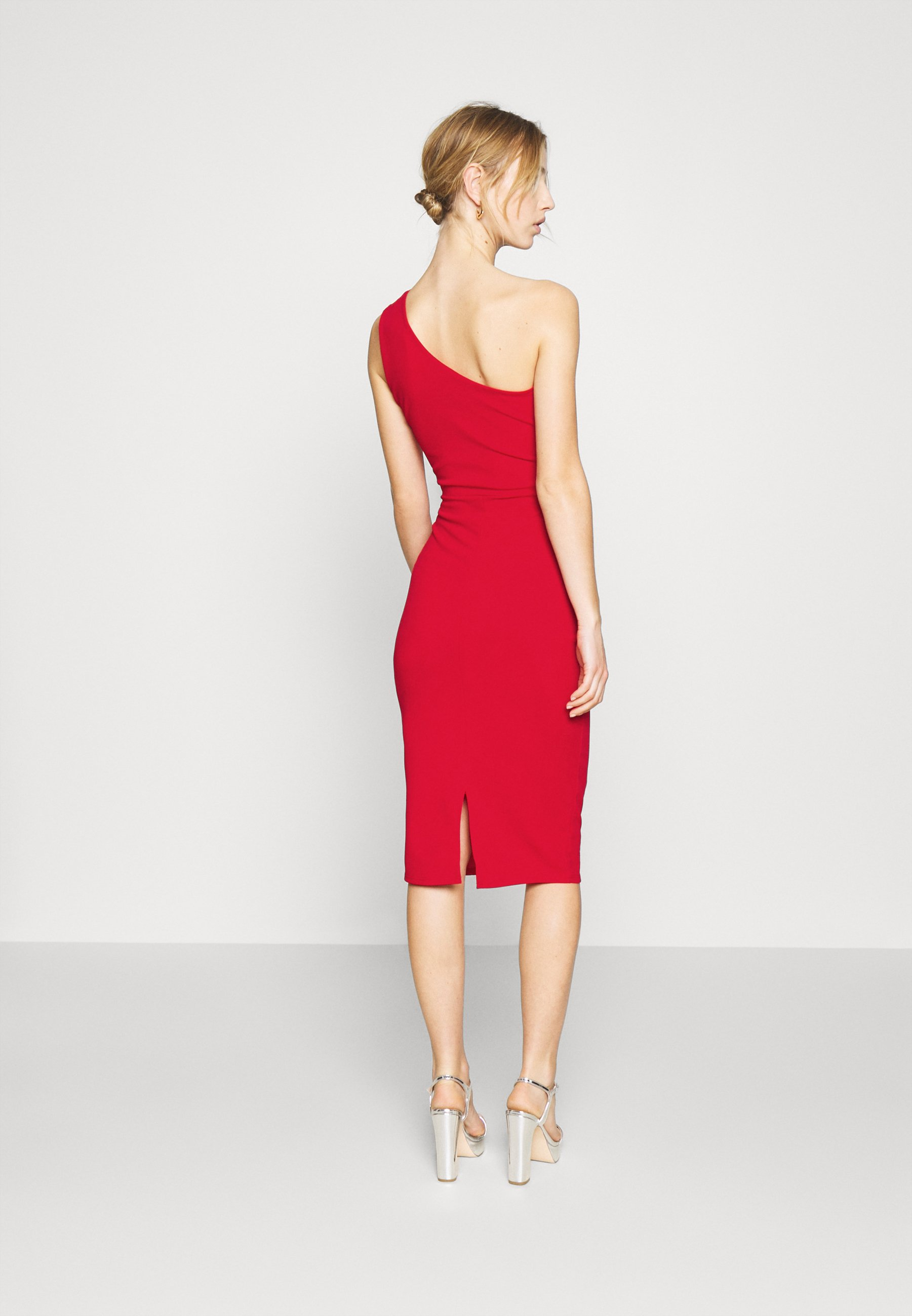 WAL G. GRACE RUCHED DRESS Etuikleid red/rot