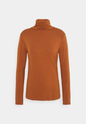 YOKO ROLLNECK - Long sleeved top - ginger bread