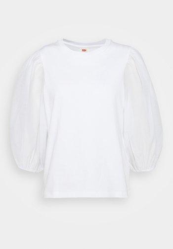 POET TEE - Pitkähihainen paita - white