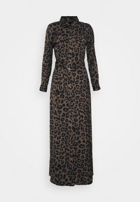 Banana Republic - MAXI SHIRTDRESS  - Maxi šaty - leopard