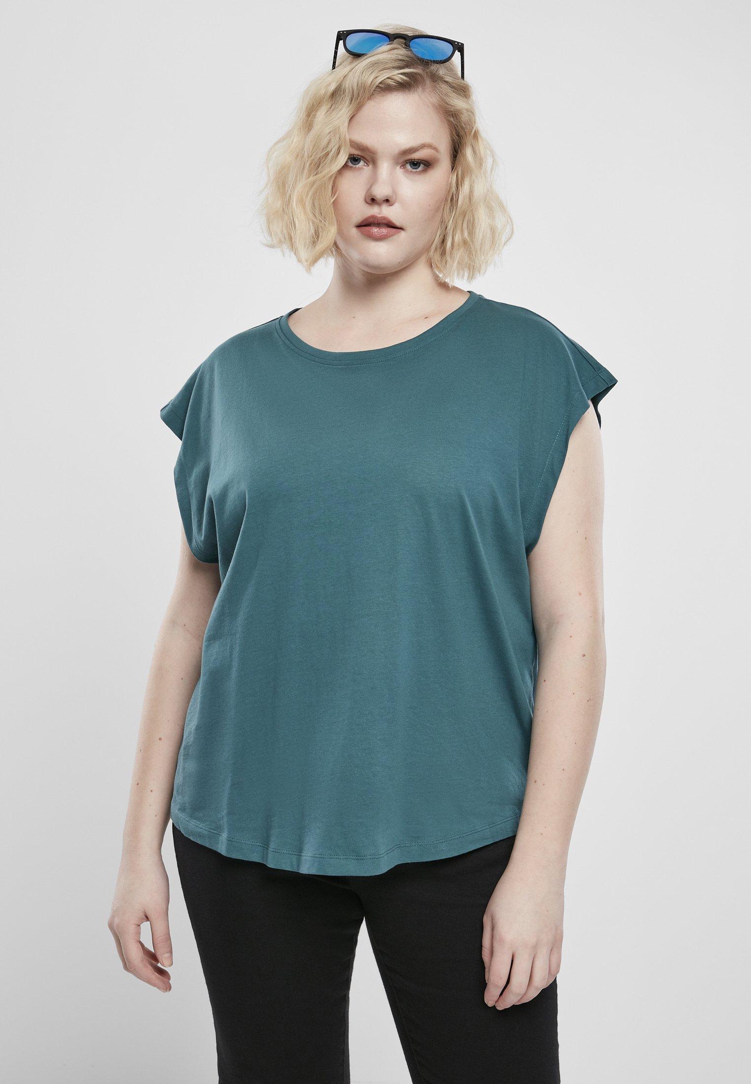 Damen FRAUEN LADIES BASIC SHAPED - T-Shirt basic