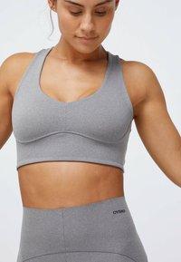 OYSHO - Sports bra - grey - 0