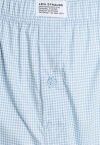 Levi's® - MEN GINGHAM CHECK 2 PACK - Boxer shorts - light blue - 3