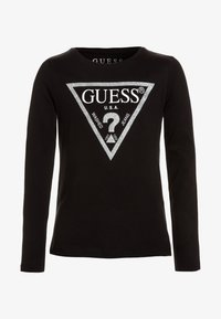 Guess - Long sleeved top - jet black/frost - 0