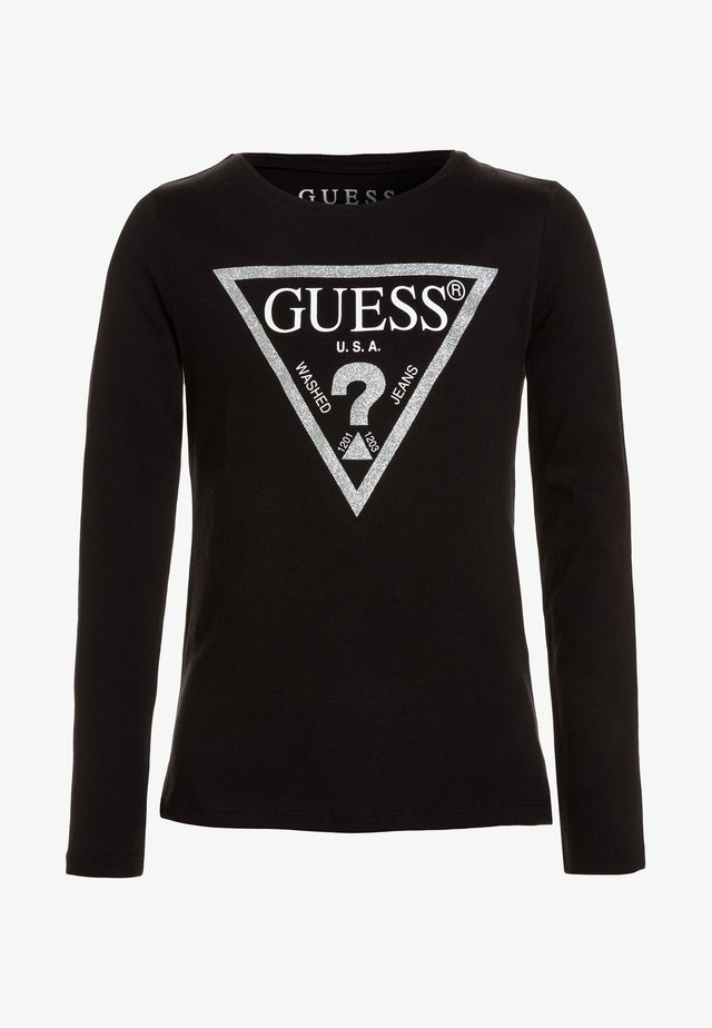 Long sleeved top - jet black/frost