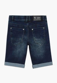 Re-Gen - TEEN BOYS BERMUDA - Farkkushortsit - dark blue - 1