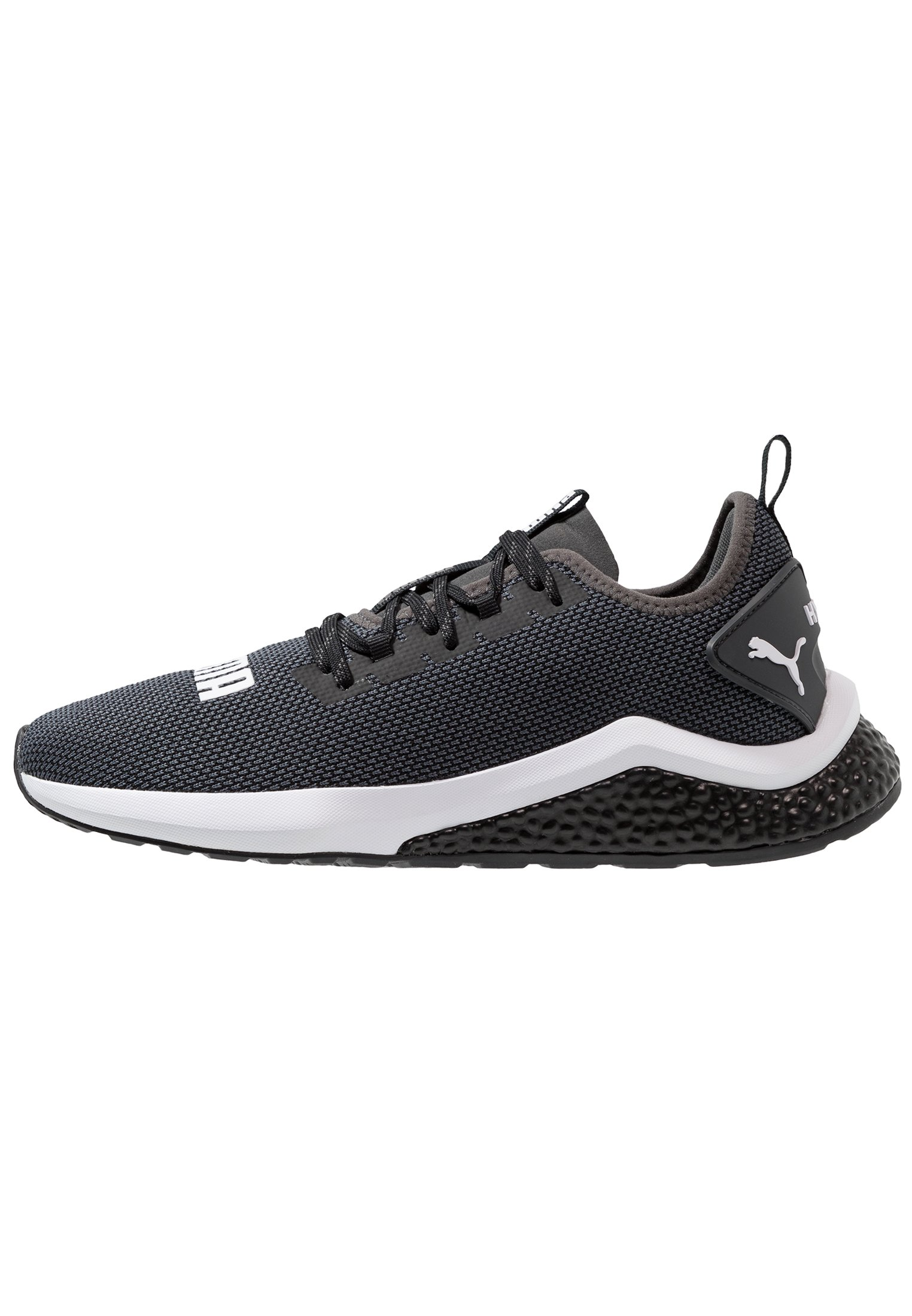 Puma HYBRID NX - Chaussures de running neutres - black/white/gris ...