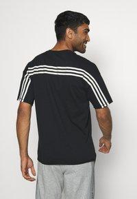 adidas Performance - TEE - Print T-shirt - black - 0