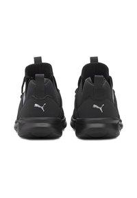 Puma - ENZO  - Chaussures de running neutres - black-metallic silver - 4