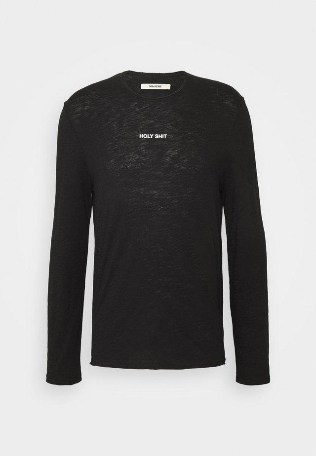 TOKI HOLY - Long sleeved top - noir
