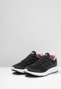 adidas Performance - GALAXY  - Neutrala löparskor - core black/true pink - 2