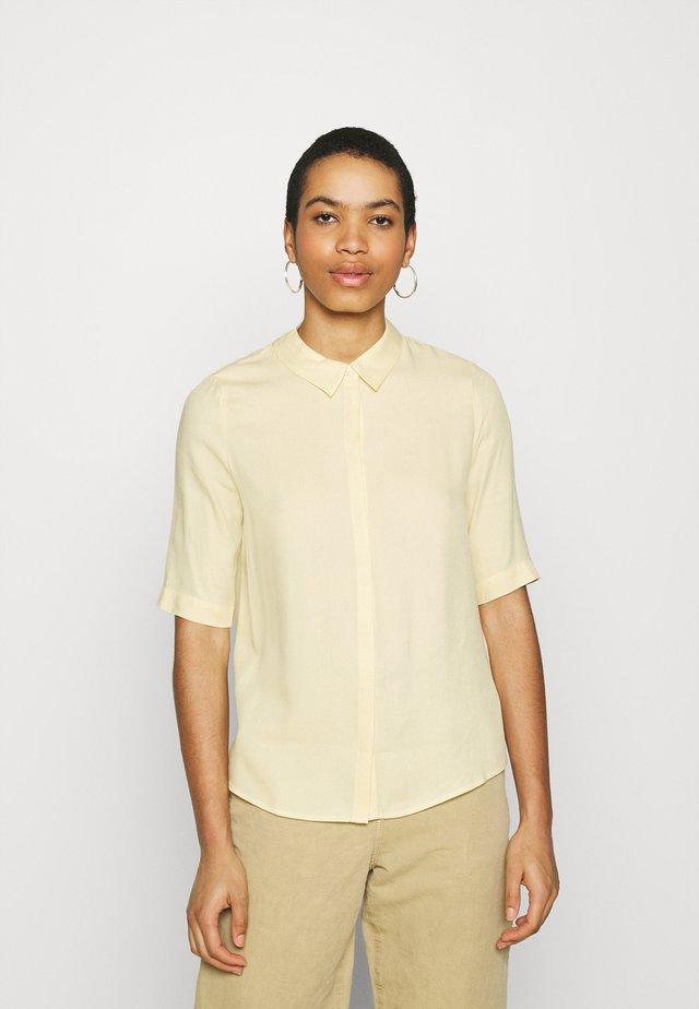 BACHE  - Button-down blouse - straw