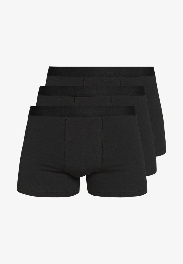 3 PACK - Pants - black/black/black
