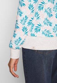 Ragwear - JOHANKA LEAVES - Sweatshirt - white - 5