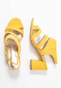 Marco Tozzi - Sandals - yellow - 3